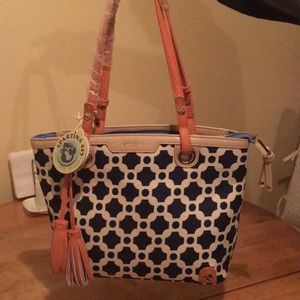 Authentic Spartina 'May River Island' Tote.